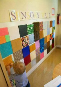 Panel Sensorial Montessori De 0 A 3 Años área Sensible Cucumama Creative