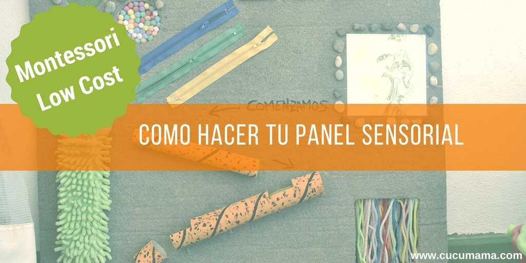 panel sensorial DIY