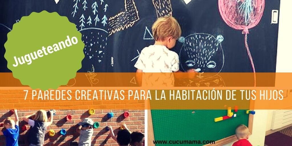 paredes creativas para habitaciones infantiles