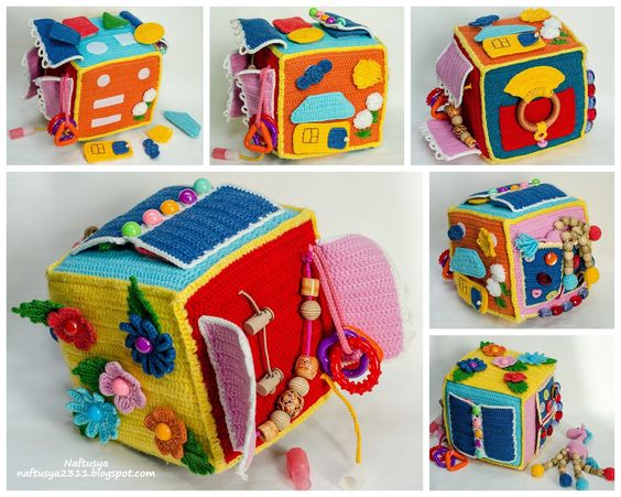 Dado sensorial a crochet
